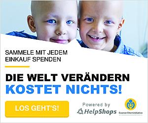 Helpshop Spenden für krebskranke Kinder